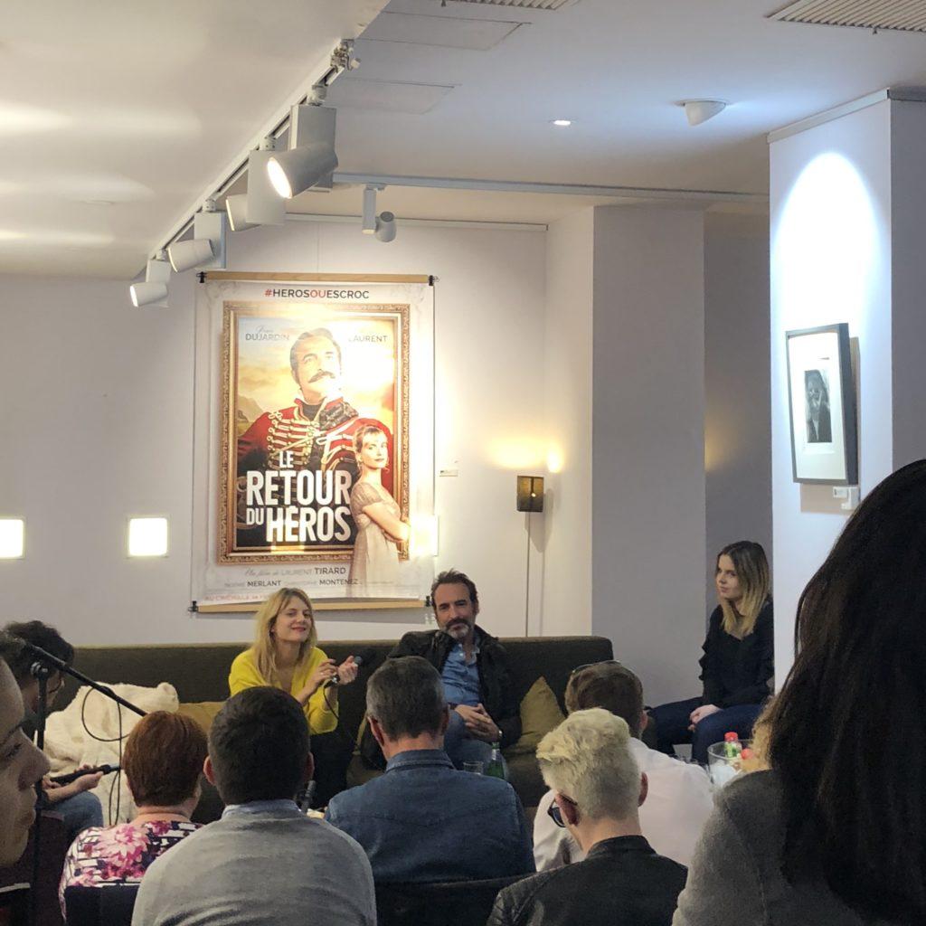Conférence de Presse Le Retour du Héros avec Jean Dujardin et Mélanie Laurent - Edition 2017