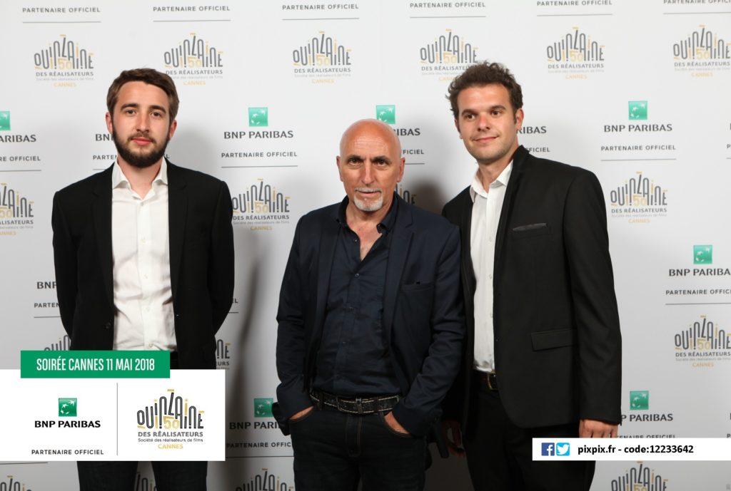 L'équipe du FIFFH à Cannes - 2018
